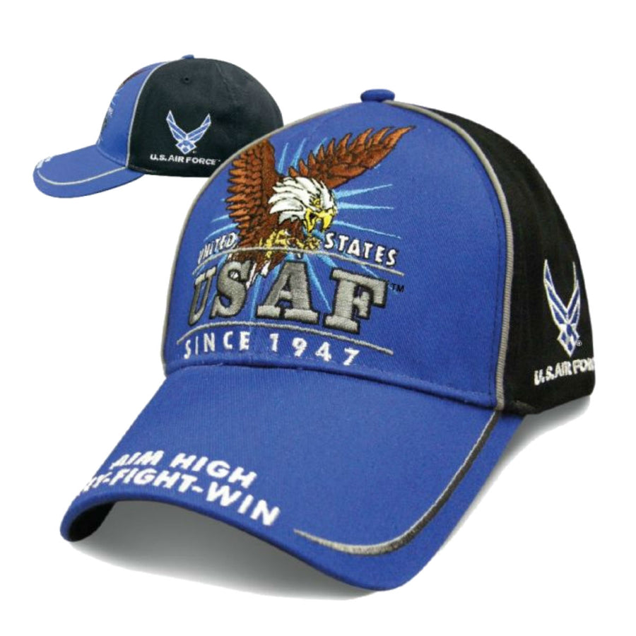 Daniel Smart Victory - Air Force Hat, Unisex, Blue/Black