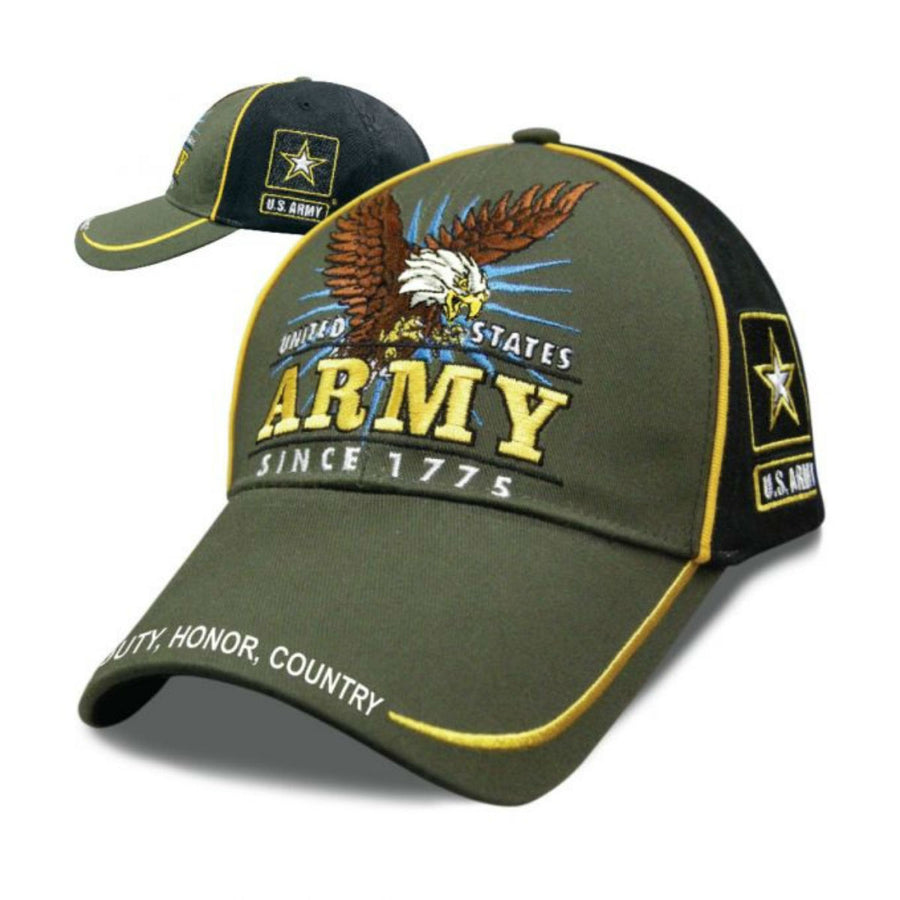 Daniel Smart Victory - Army Hat, Unisex, Army Green/Black