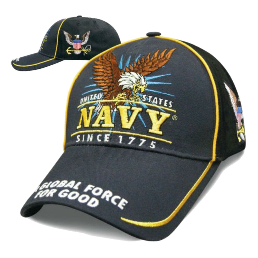 Daniel Smart Victory - Navy Hat, Unisex, Navy Blue/Black