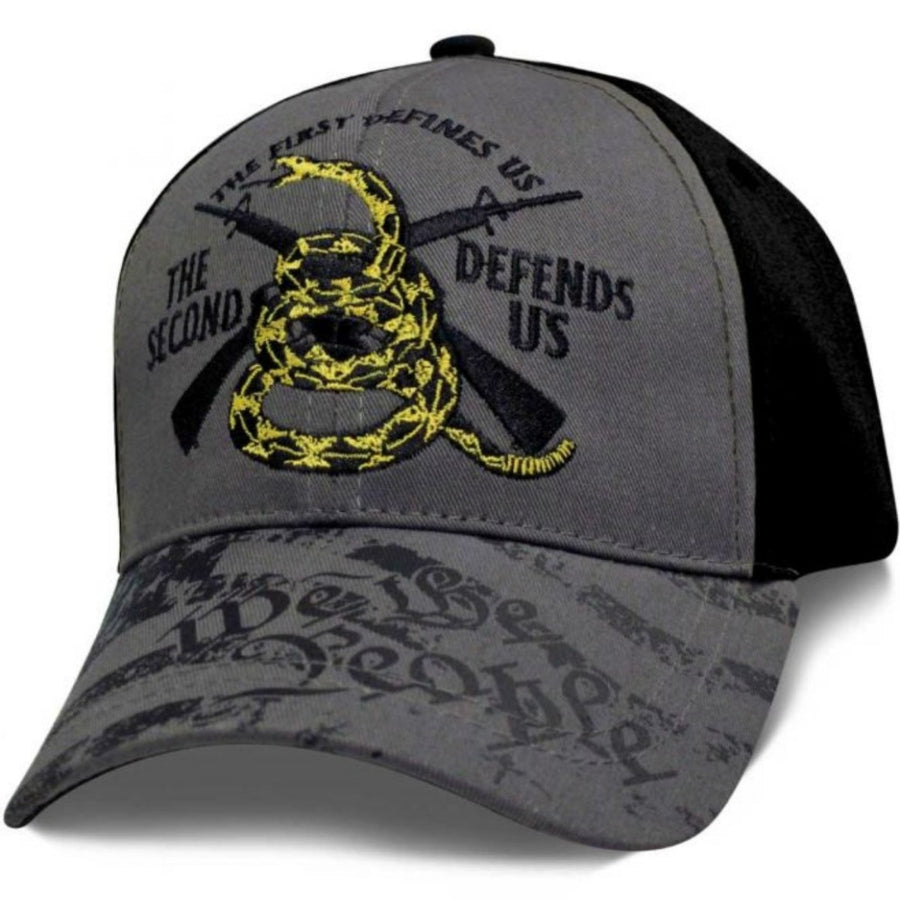 Daniel Smart Don't Tread We the People Hat, Unisex, Gray/Black