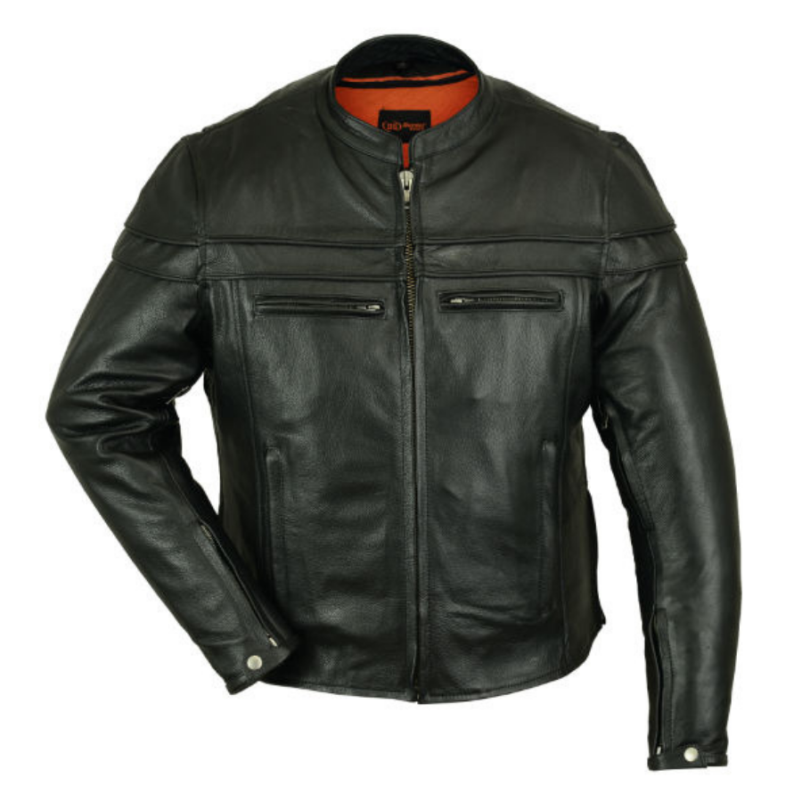 Daniel Smart Men's Sporty Scooter Jacket