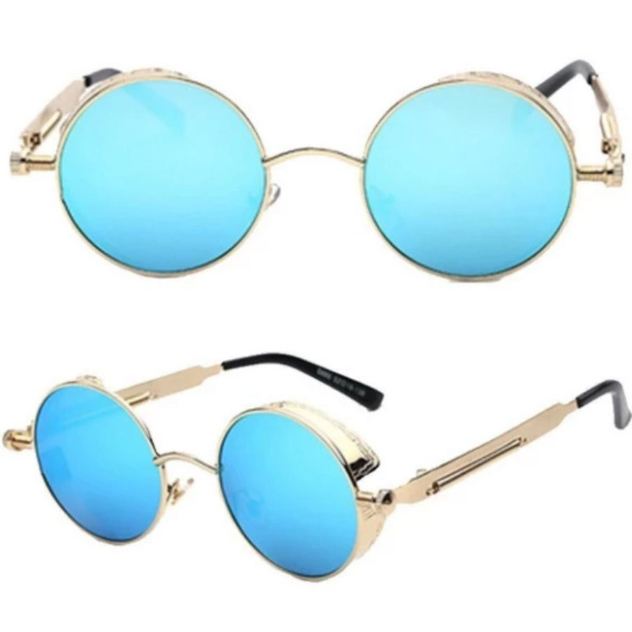 Rebel Steampunk Sunglasses plus Free 1% Er Ring