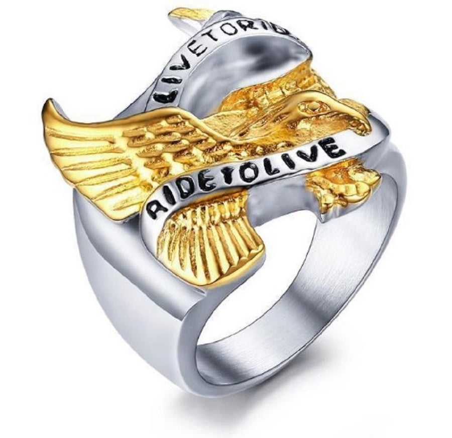 Live to Ride Ring