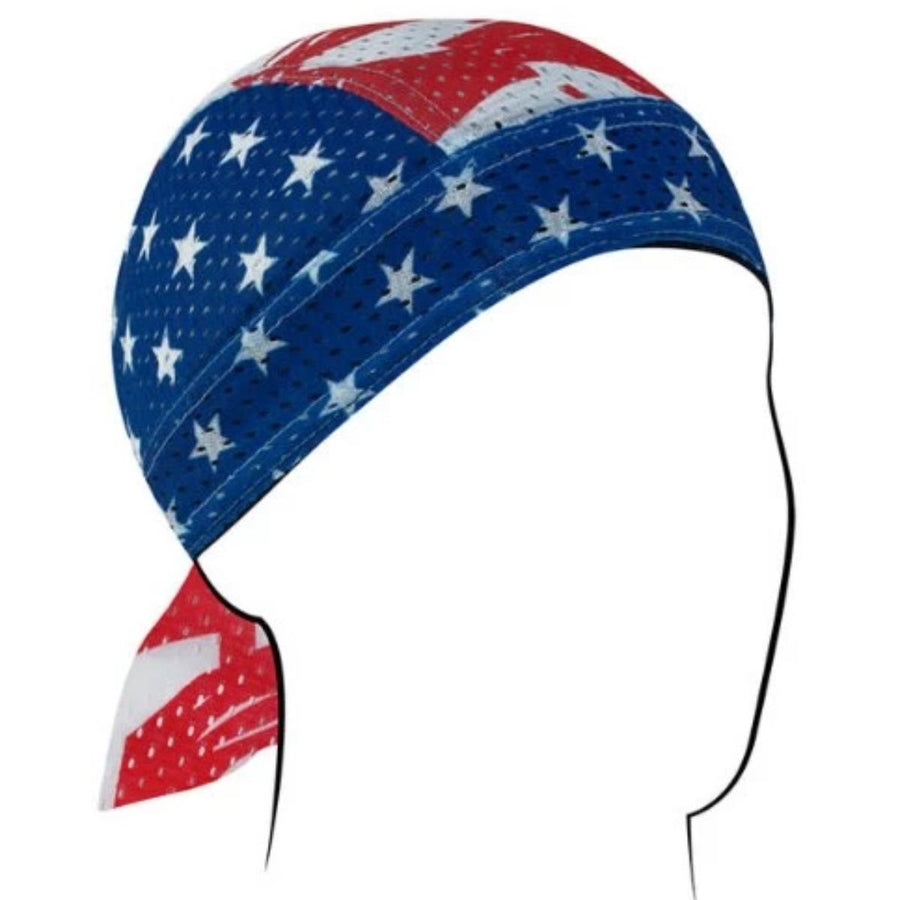 Zan headgear Vented Patriotic Headwrap