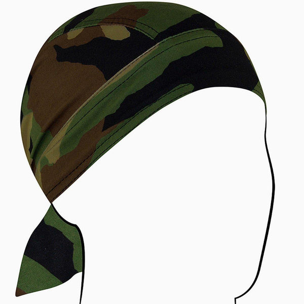 Zan Headgear Sportflex Flydanna in Woodland Camo
