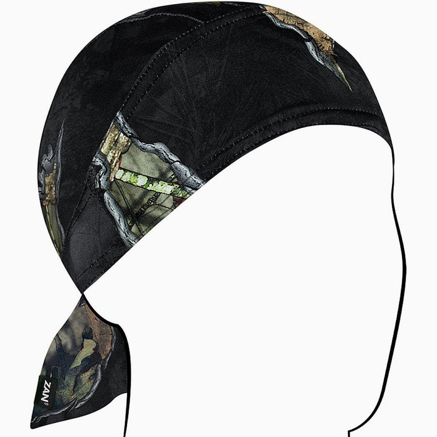 Zan headgear® Mossy Oak Break-Up Eclipse Flydanna with Sweatband