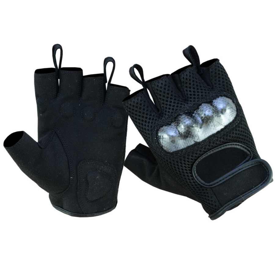 Daniel Smart Sporty Mesh Fingerless Gloves