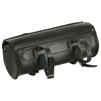 Daniel Smart Large Leather Round Tool Bag