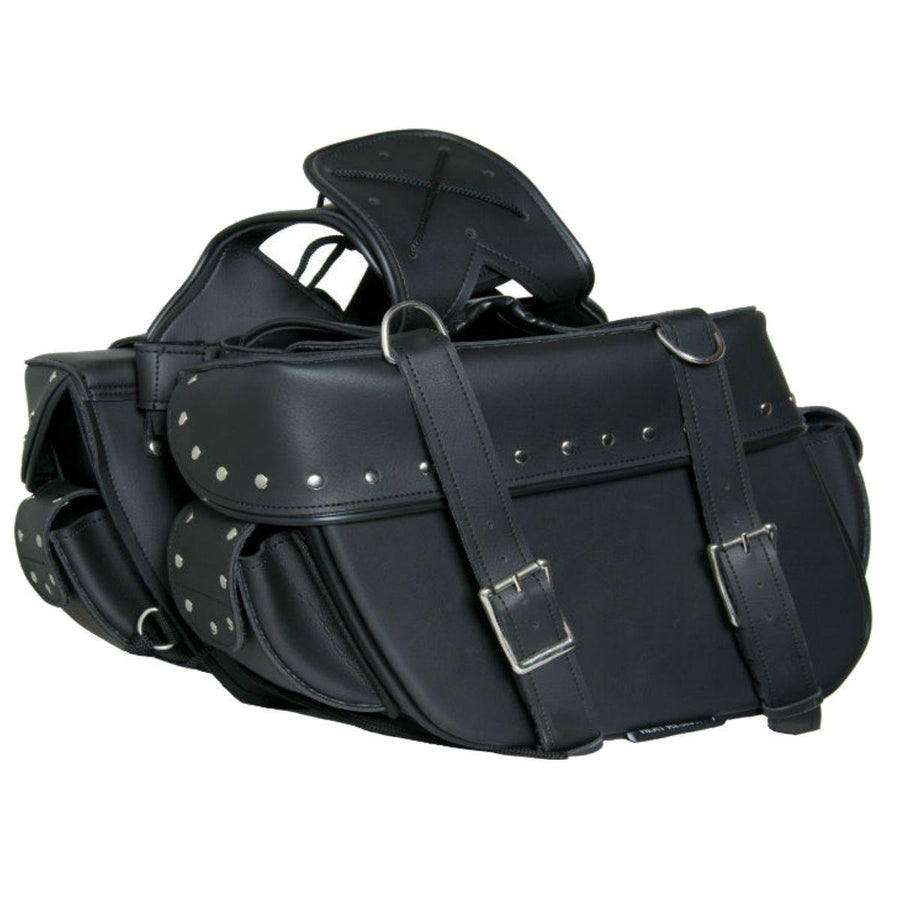 Daniel Smart Two Strap Saddle Bag with Studs 3.0
