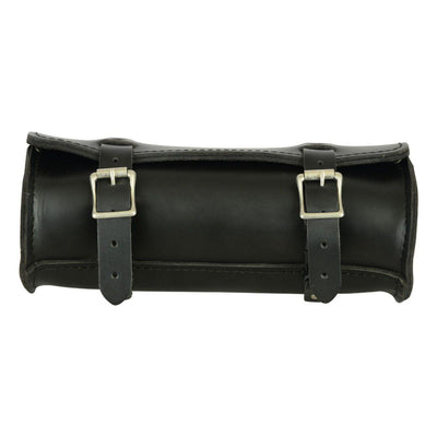Daniel Smart Large Leather Round Tool Bag - American Legend Rider