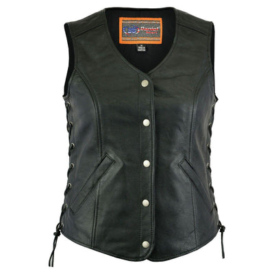 Daniel Smart Women's V-Neck Vest - American Legend Rider
