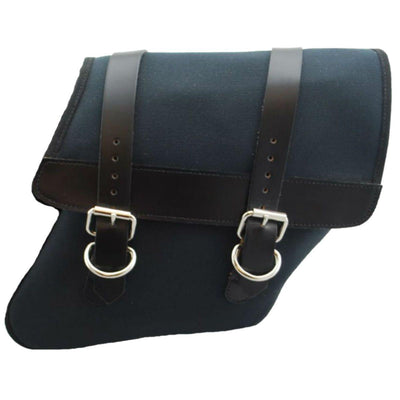 La Rosa HD Dyna Canvas Saddle Bag - American Legend Rider
