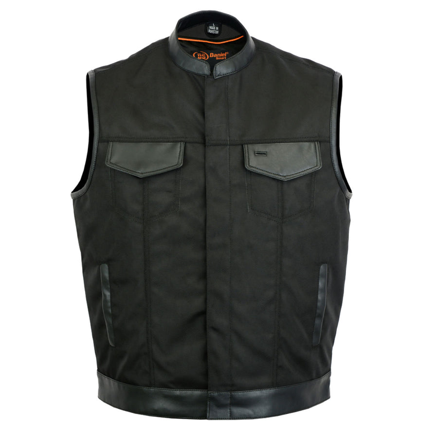 Daniel Smart Textile Scoop Collar Vest