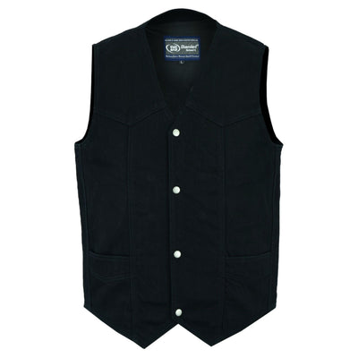 Daniel Smart Traditional Vest with Plain Sides