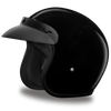 D.O.T. Cruiser Hi-Gloss Black Helmet
