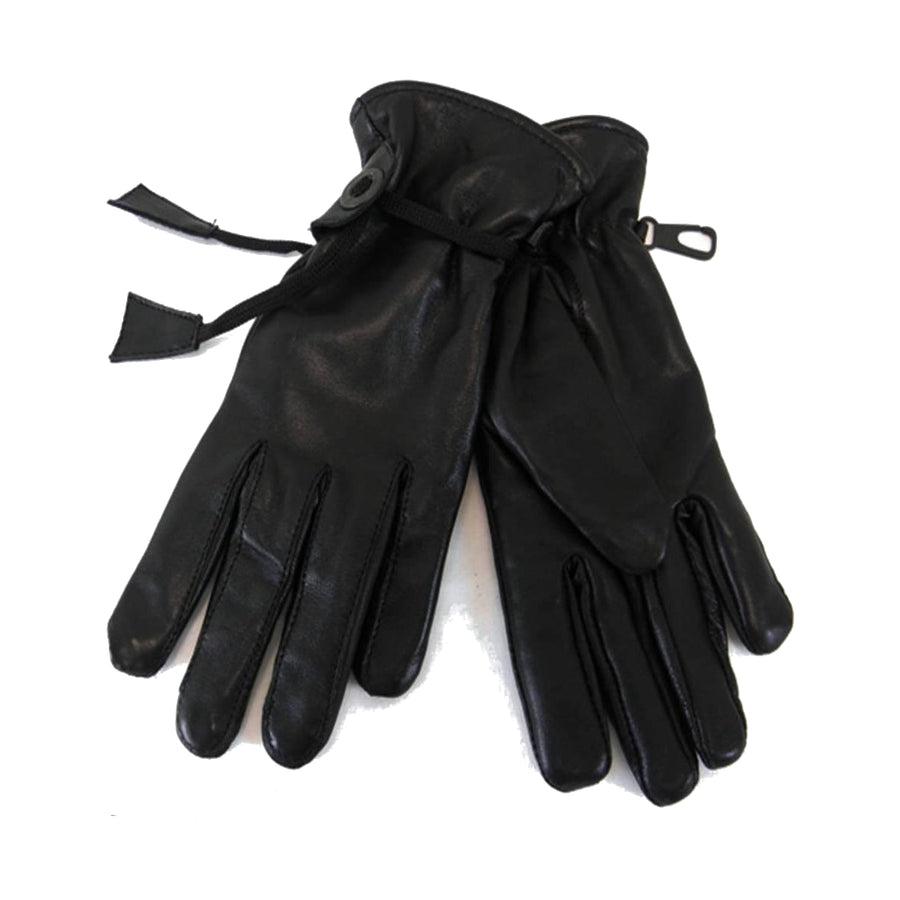 Vance Ladies Soft Leather Lined Riding Gloves