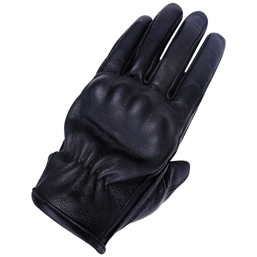 Vance Ladies Armored Knuckle Leather Riding Gloves