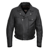 Vance Leather Men's Pistol Pete Jacket Premium Leather / Lower Padded Back