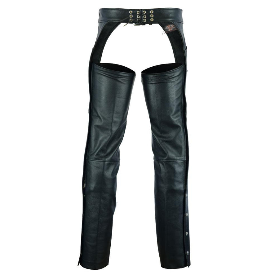 Vance Leather Levi Style Pocket Premium Leather Chaps