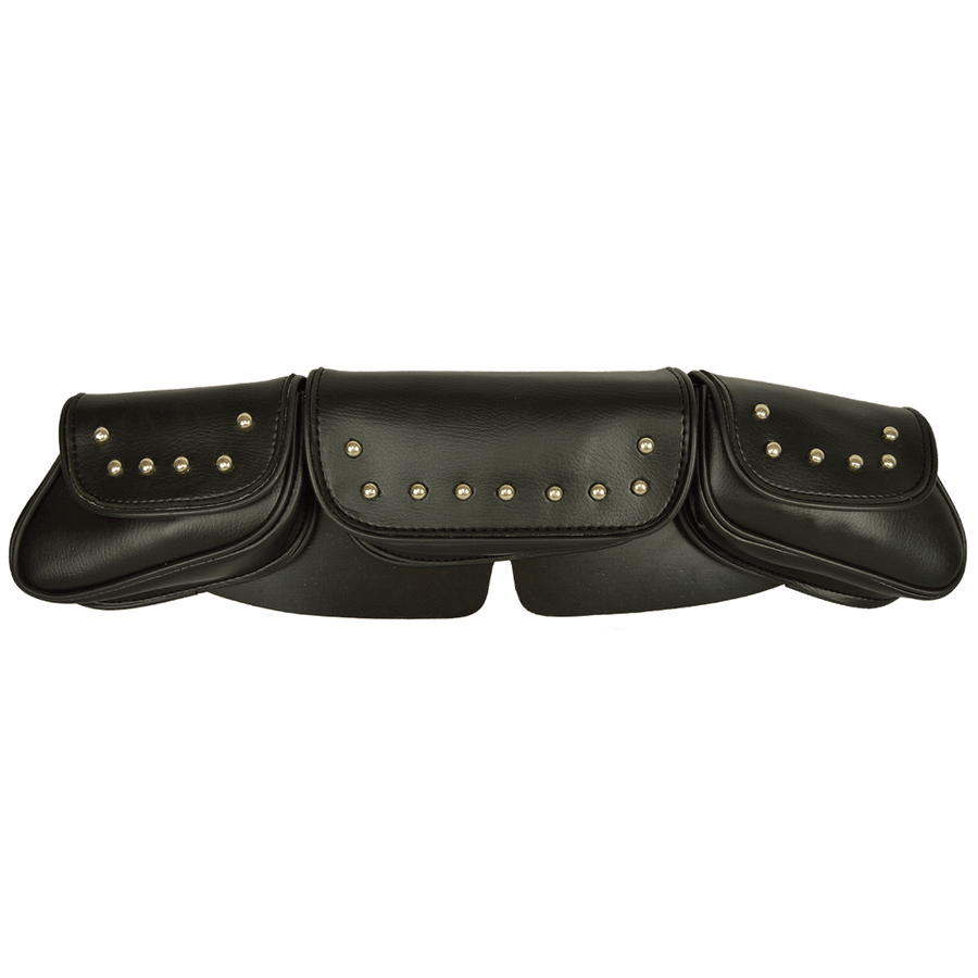 Vance Leather Low Profile Studded Windshield Bag