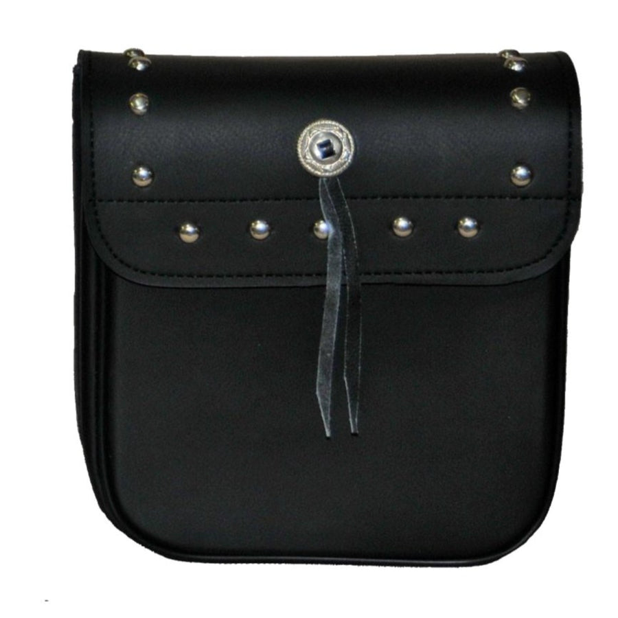 Vance Leather Small Studded Sissy Bar Bag