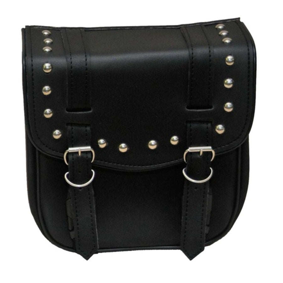 Vance Leather Small 2 Strap Studded Sissy Bar Bag