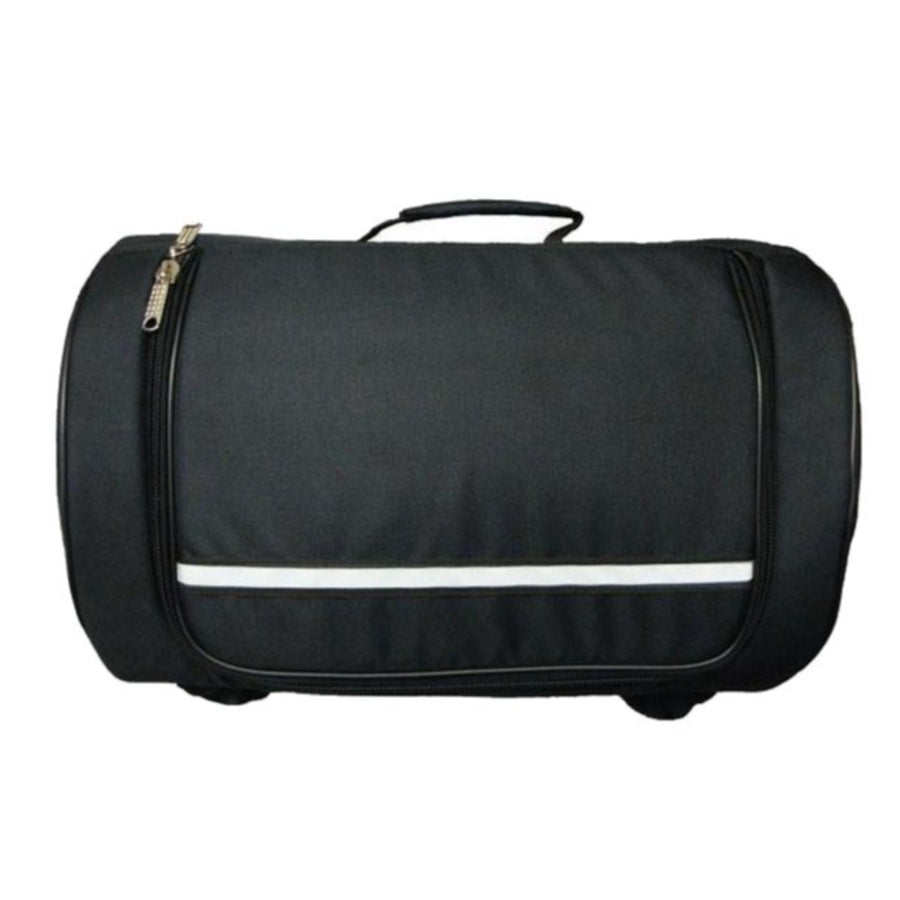 Vance Leather Textile Sissy Bar Roll Bag