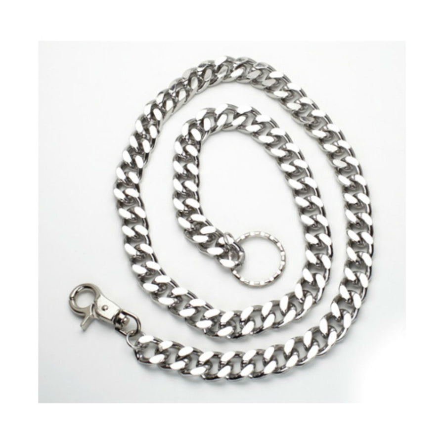 Daniel Smart Chrome Wallet Chain, Silver Color