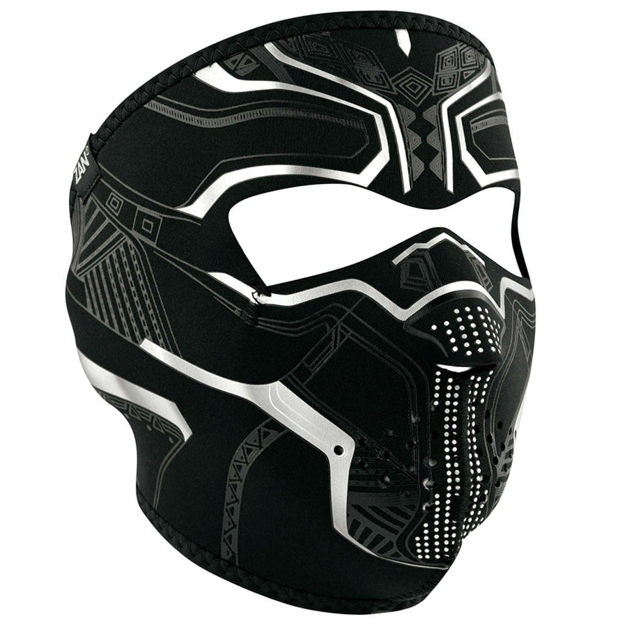 ZANheadgear® Neoprene Protector Full Face Mask, OSFM, Black/Gray/White