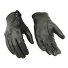 Daniel Smart Women's Premium Sporty Black Leather Gloves - American Legend Rider