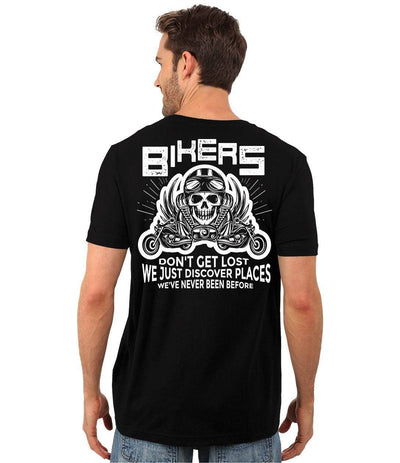 Bikers Don't Get Lost T-Shirt