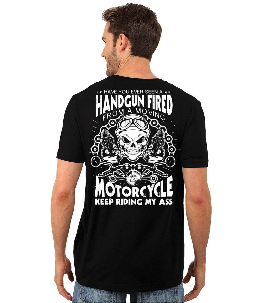 Motorcycle Keep Riding My Ass T-Shirt
