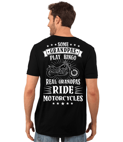 Real Grandpas Ride Motorcycles T-Shirt