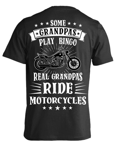 Real Grandpas Ride Motorcycles T-Shirt & Hoodies