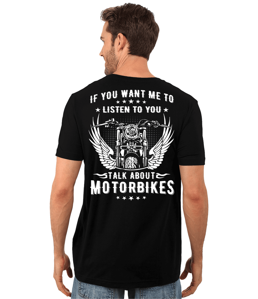 Talk About Motorbikes T-Shirt - American Legend Rider