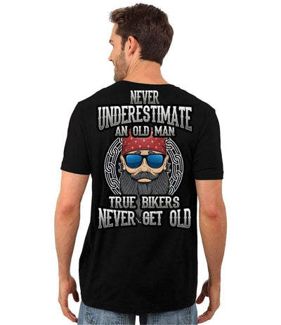 True Bikers Never Get Old T-Shirt & Hoodies
