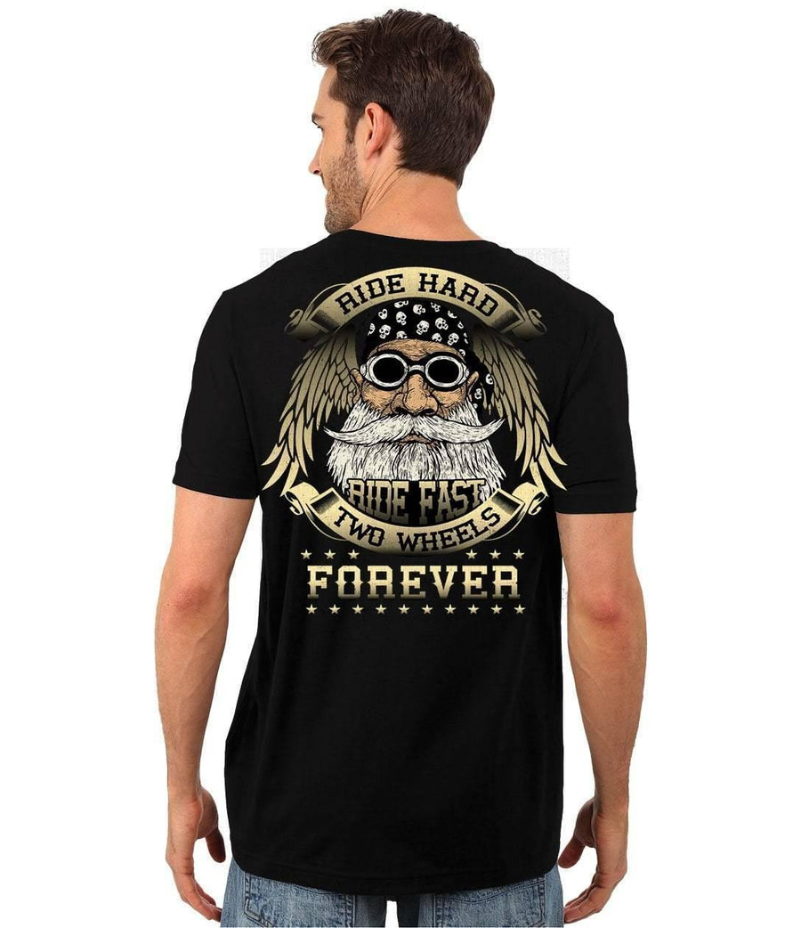 Two Wheels Forever T-Shirt - American Legend Rider