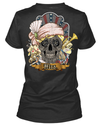 Poker Skull T-Shirt (Female) - American Legend Rider