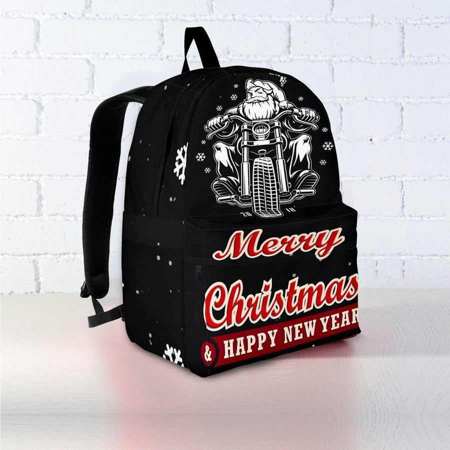 Santa Biker Backpack