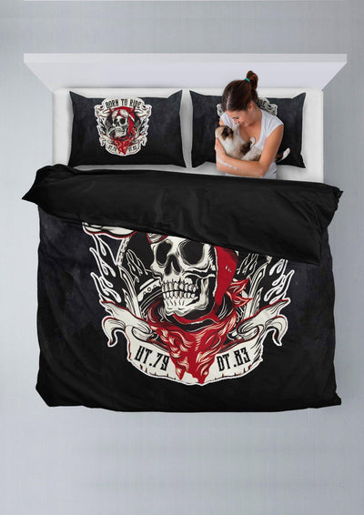 Born to Ride Bedding Set
