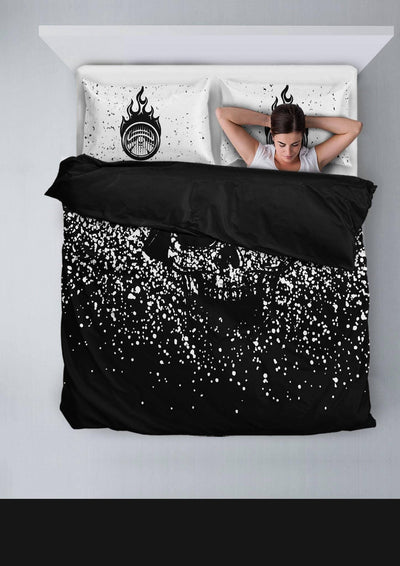 Faded Skull Bedding Set