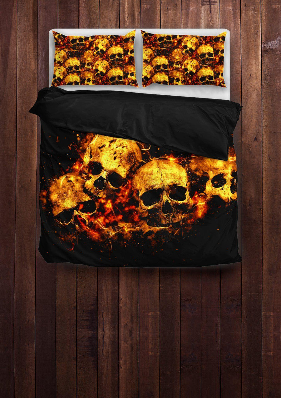 Skull Bedding Sets Collection American Legend Rider