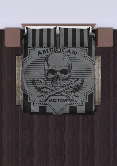 American Motor Bedding Set