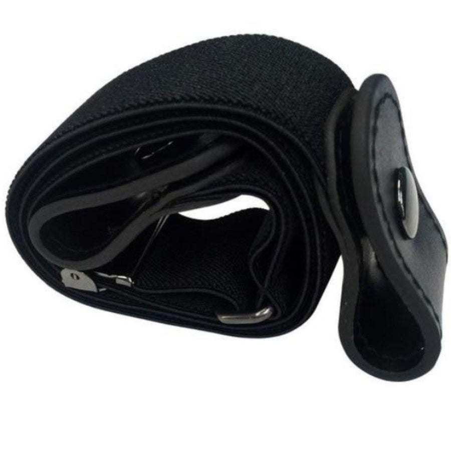 Buckle-Free Elastic Belt, Fits Waist 33.5 - 49 inches
