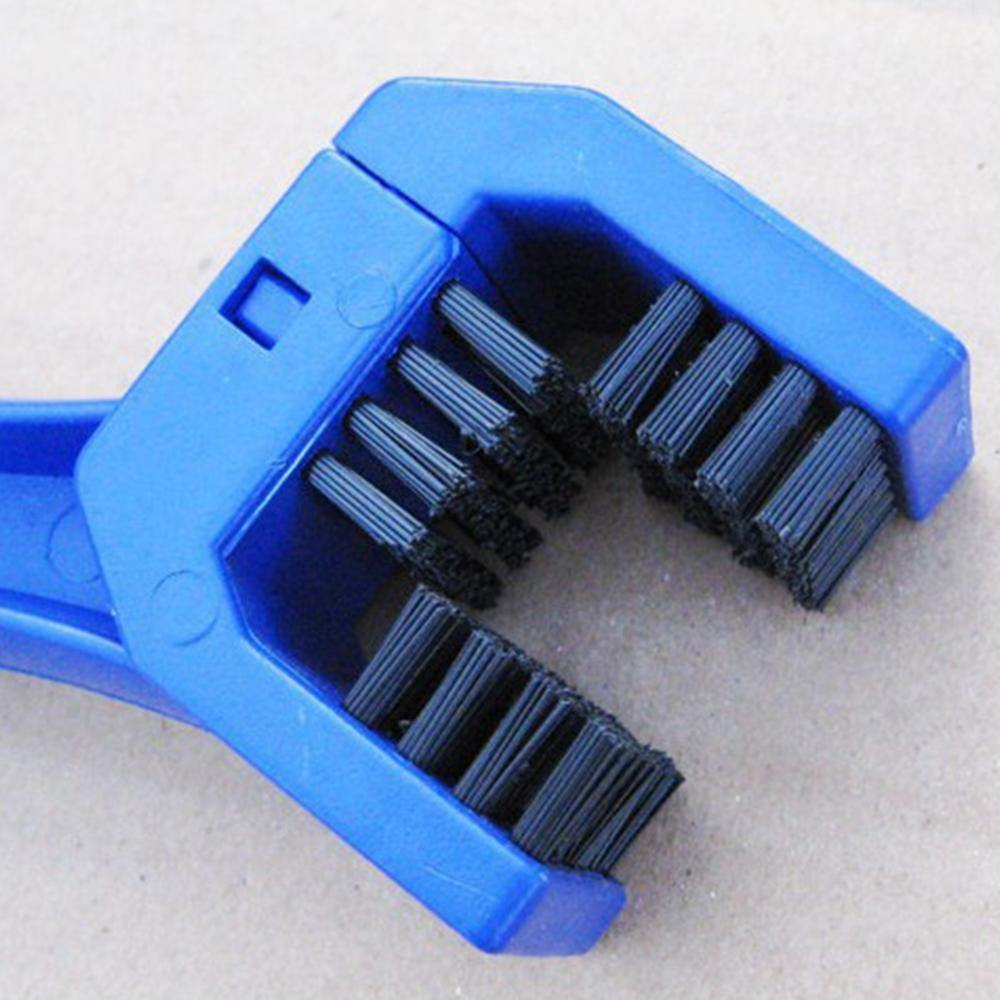 Motorcycle Chain Cleaning Brush, ABS/Nylon, 10 x 2.4 in - American Legend Rider