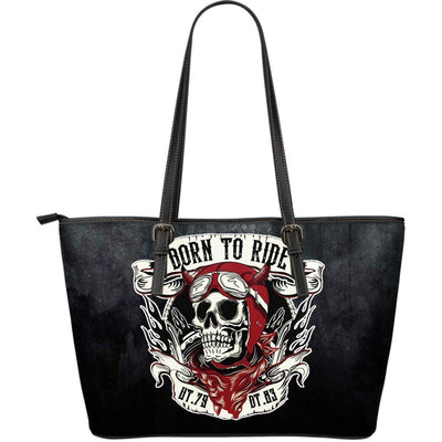 Born to Ride Large Tote Bag