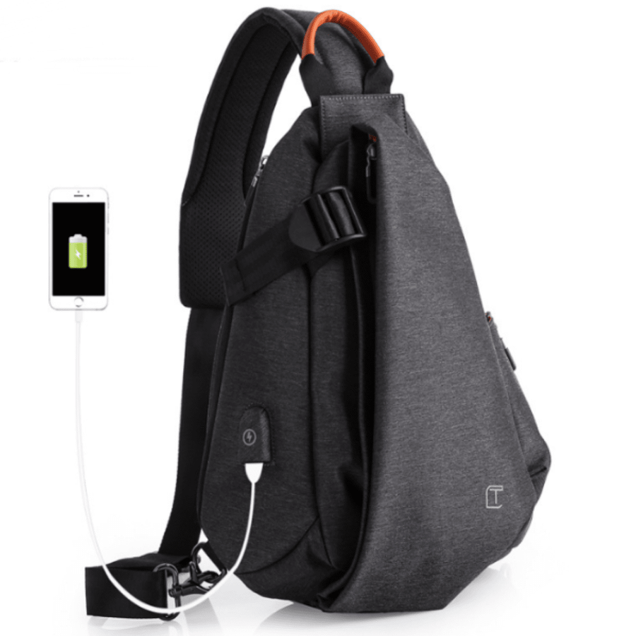 Premium Chest Bag with USB Slot