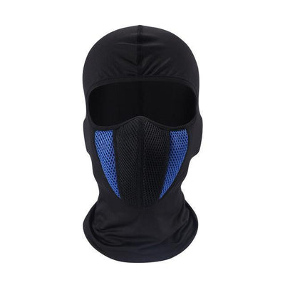 Motorcycle Full Face Mask, Lycra Mesh Fabric, One Size Fits All