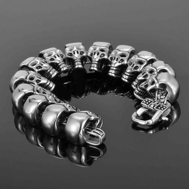 Men Steampunk Bracelet