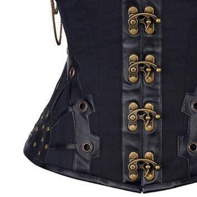 Vintage Leather Corset For Women